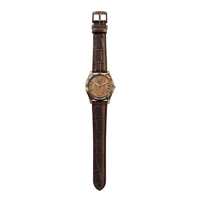 Irish Penny Watch - Brown Leather Band