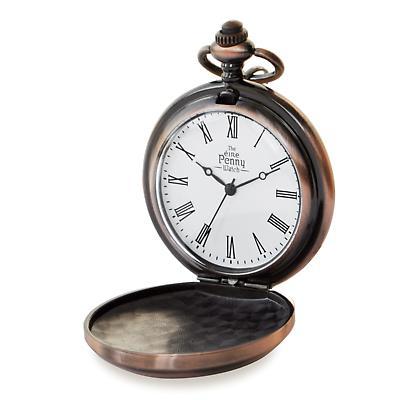 Irish Penny Pocket Watch - Bronze Plated