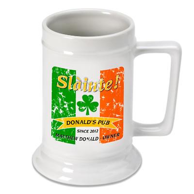Personalized 16 oz. Irish Beer Stein - Pride of the Irish