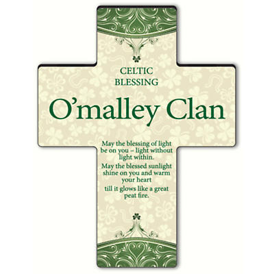 Personalized Classic Irish Cross - Old Celtic Blessing