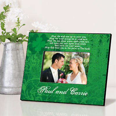 Personalized Irish Picture Frames - Irish Blessing