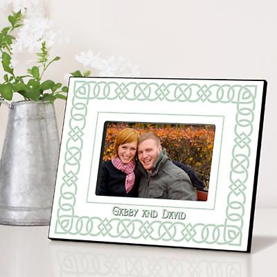 Personalized Irish Picture Frames - Irish Linen