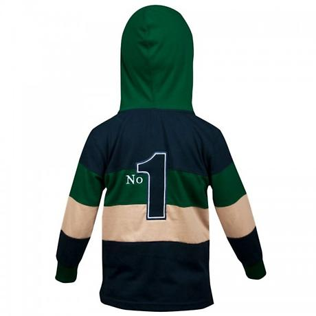 Croker Kids Irish Hooded Rugby Jersey
