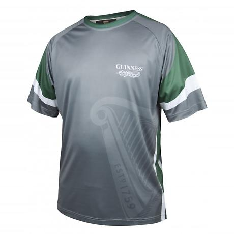 Guinness Green & Grey Signature Performance Soccer Jersey