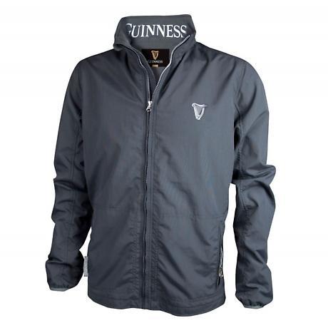 Guinness Grey Wind Breaker Jacket