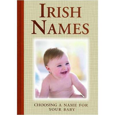 Irish Names Hardcover Book