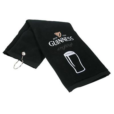 Guinness Pint Golf Towel