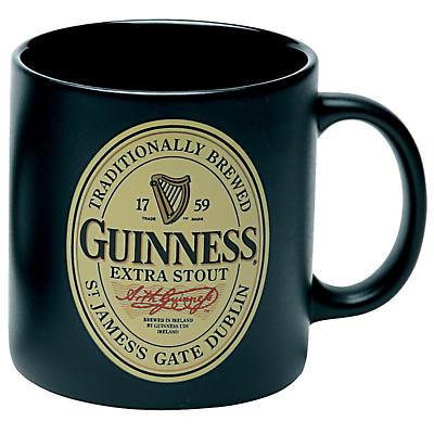 Guinness Label Mug - Set of 4