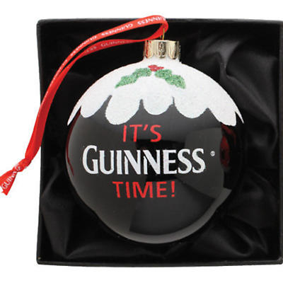 Irish Christmas - Guinness Pint Bauble Ornament