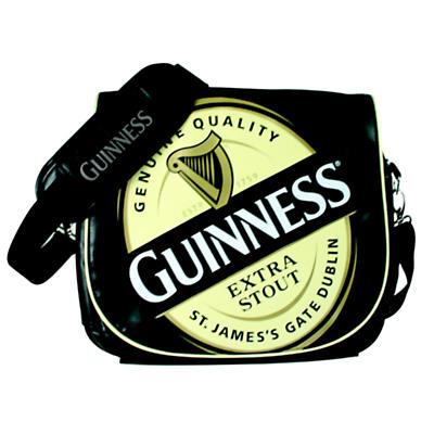 Guinness Label Messenger Bag
