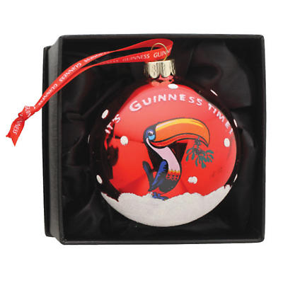 Irish Christmas - Guinness Toucan Bauble Ornament