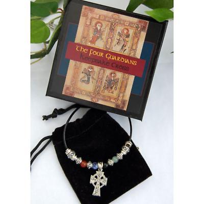 Irish Necklace - Four Guardians Keepsake Cross Necklace