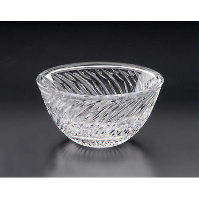 Irish Crystal - Heritage Crystal 5 inch Silver Salmon Bowl