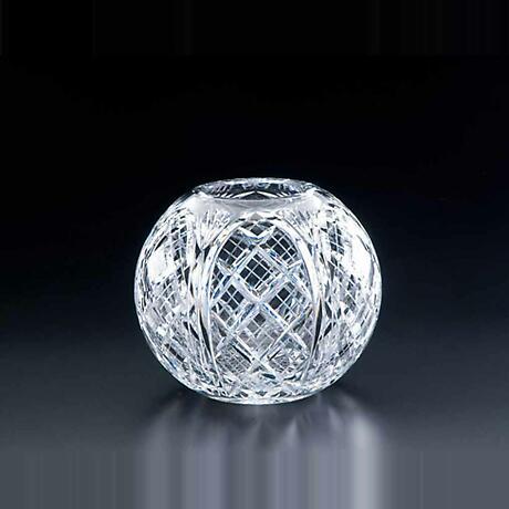 Irish Crystal - Heritage Irish Crystal 8 inch Cathedral Rose Bowl