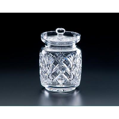 Irish Crystal - Heritage Irish Crystal 6 inch Cathedral Cut Biscuit Barrel Jar