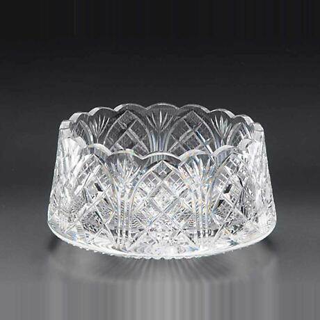Iirsh Crystal - Heritage Irish Crystal 9 inch Cathedral Castle Scalloped Bowl