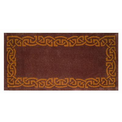 "Celtic Rug - ""Eternity"" Wool Rug - Rustic - upgrade to size 6 x 9"