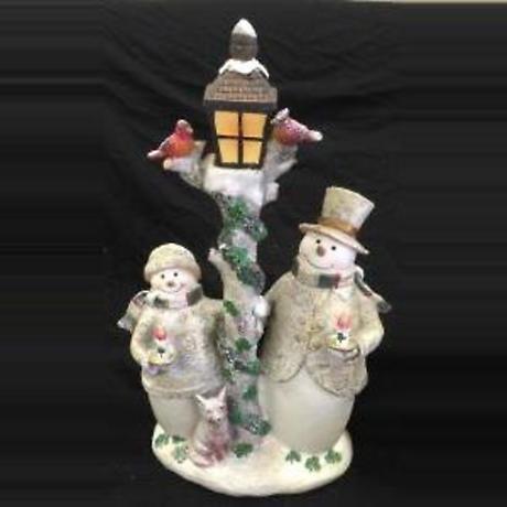 Irish Christmas - Timberland Snowmen Figurine