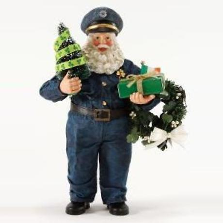 Irish Christmas - Officer Friendly Santa