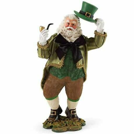 Irish Christmas - A Celtic Gentleman Santa
