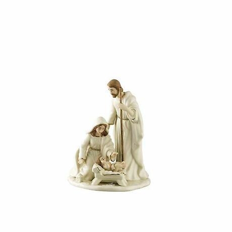 Irish Christmas - Belleek Nativity Family - Small