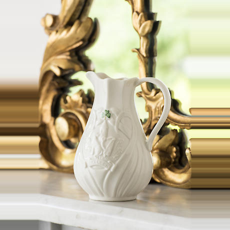 Belleek Trademark Pitcher Edition Piece