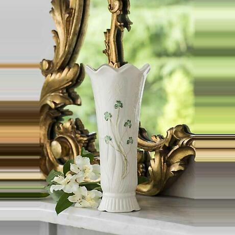 Belleek Woodland Vase