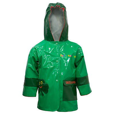 Kids Shamrock Raincoat