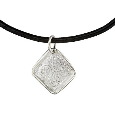 Celtic Pendant - Handcrafted Sterling Silver Celtic Knot Irish Necklace
