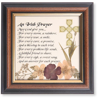 """An Irish Prayer"" Framed Print"