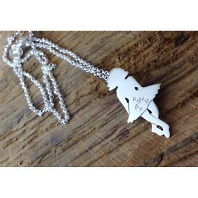 Irish Necklace - Sterling Silver Irish Dancer Pendant