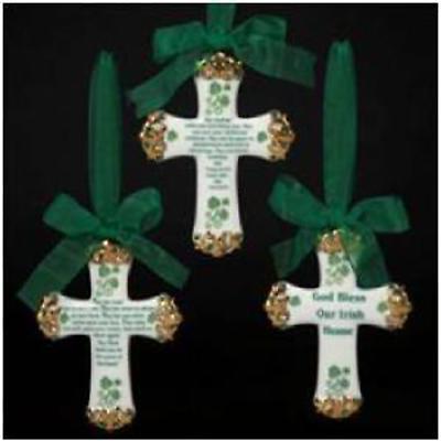 Irish Christmas - Irish Blessing Ornaments - Set of 3