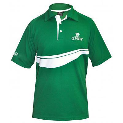 Guinness Green Golf Shirt