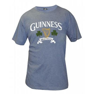 Guinness Navy Distressed T-Shirt