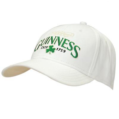 Guinness White Shamrock Cap