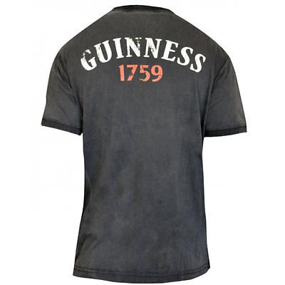 Guinness Distressed Cockatrice Label T-Shirt