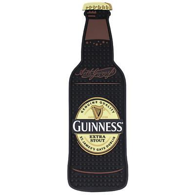 Guinness Bottle Shape PVC Bar Mat