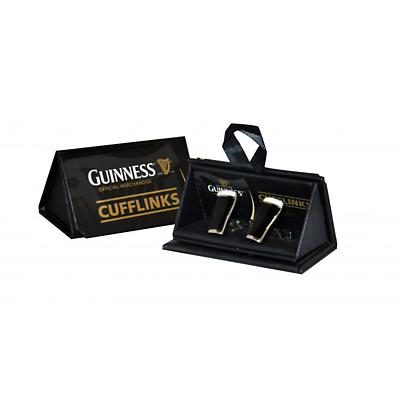 Guinness 3D Pint Glass Cufflinks
