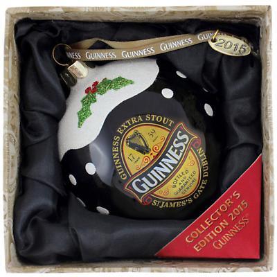 Irish Christmas - 2015 Guinness Christmas Bauble Ornament