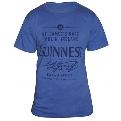 Guinness Vintage Distressed T-Shirt