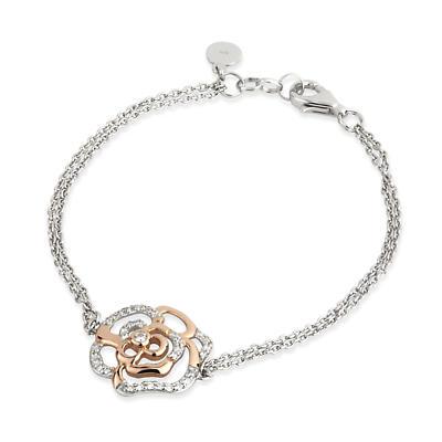 Jean Butler Jewelry - Sterling Silver Irish Rose Two Tone Irish Bracelet