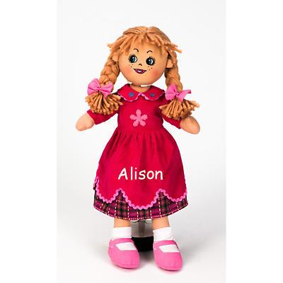 "Personalized 19"" Irish Doll - Poppy"