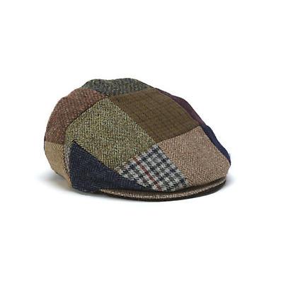 Vintage Irish Child's Tweed Cap - Patchwork