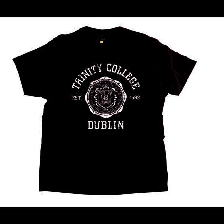 Irish T-Shirt - Trinity Wax Seal T-Shirt - Burgundy