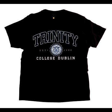 Irish T-Shirt - Trinity Collegiate Seal T-Shirt - Burgundy