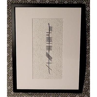 Personalized Ogham Framed Print