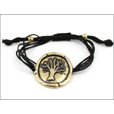 Celtic Bracelet - Tree of Life Bracelet - Gold Burnish
