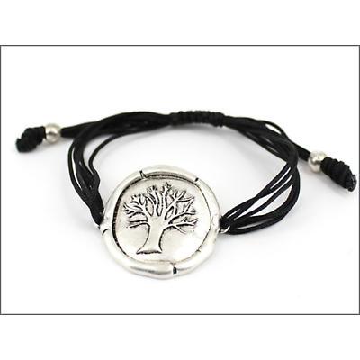 Celtic Bracelet - Tree of Life Bracelet - Silvertone
