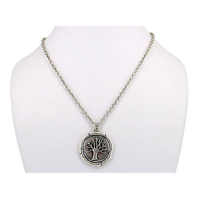 Celtic Necklace - Tree of Life Necklace - Silvertone