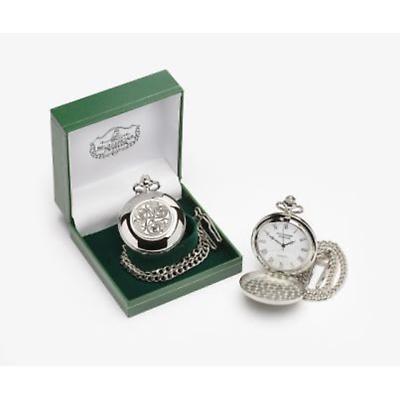 Irish Watch - Mens Celtic Pocket Watch Pewter